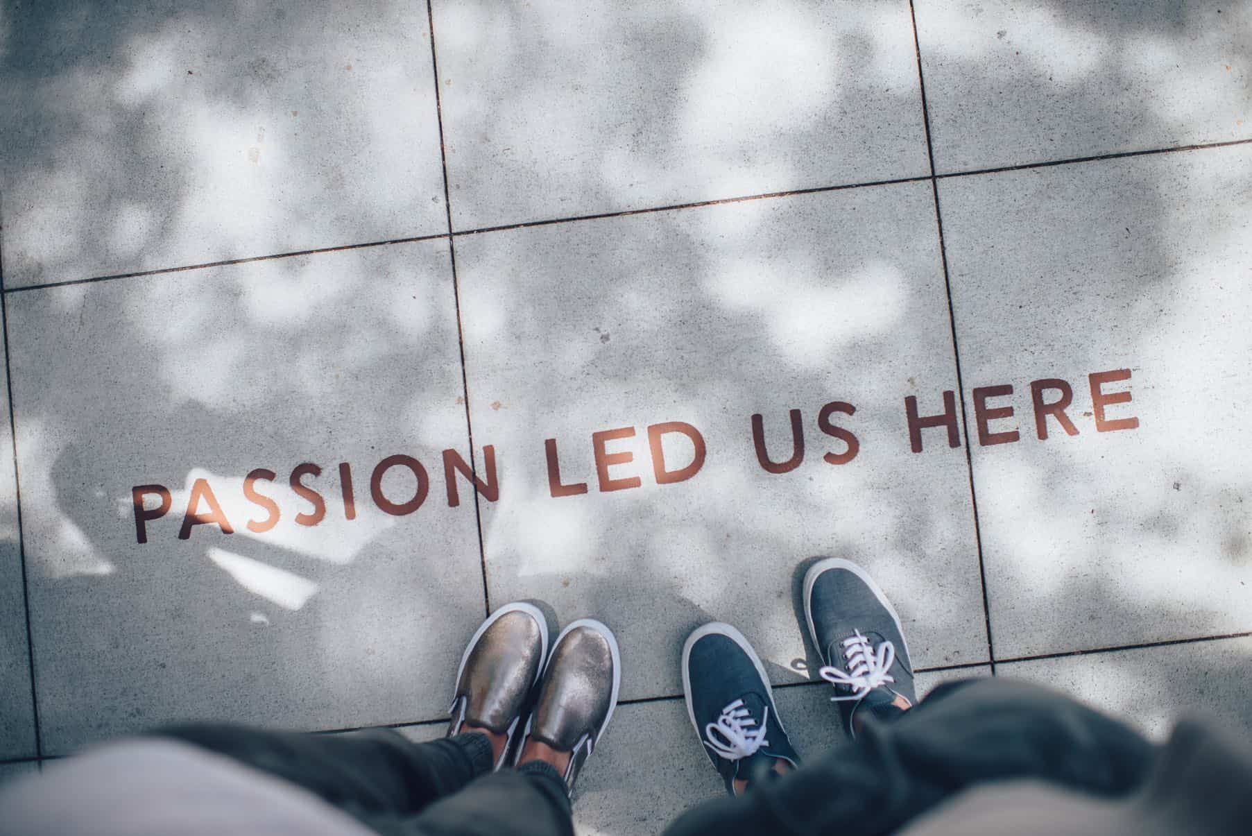 passion led us here who we are med